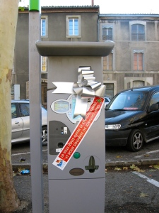 Free parking in the center of town, amazing!
