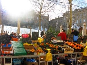 Saturday market offerings