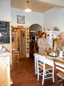 Tea room side of the shop