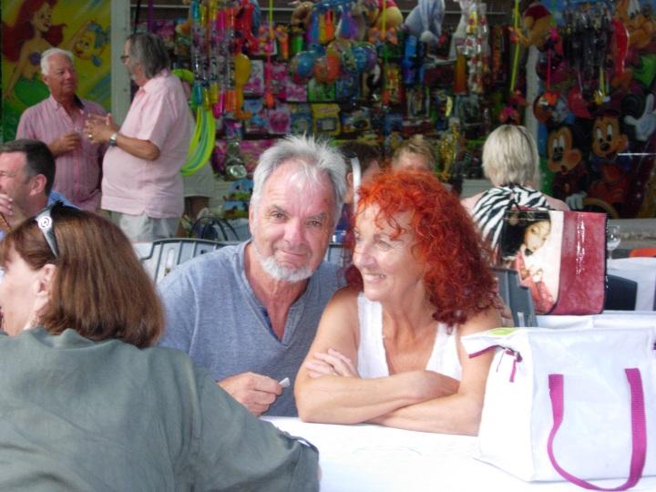Henri et Georgette - await their respective spouses