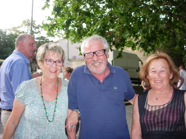 Christiane, Serge et Pierrette
