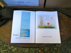 Books of poetry & art by Annegret Groene