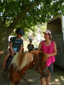 A pony ride!