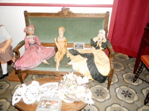 Dolls that represent the moralities the child was expected to have