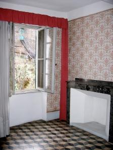 Ma chambre et la fenêtre