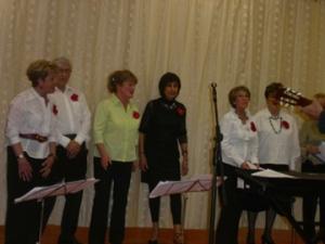 A few friends from choir