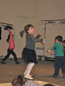 Dance, dance, dance...