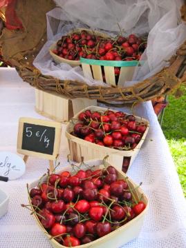 Cherries, cherries and more cherries at their peak!