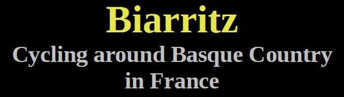 01-Biarritz-cycling around basque country