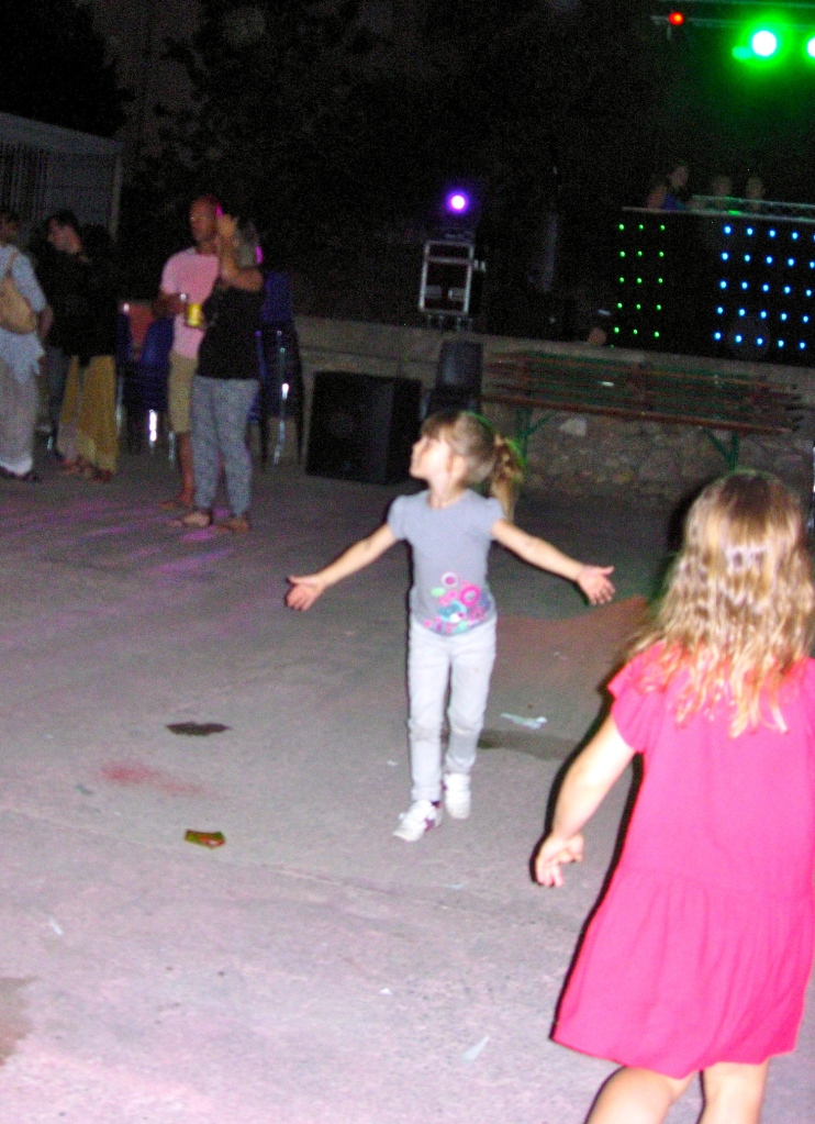 No age limits on the dance floor!