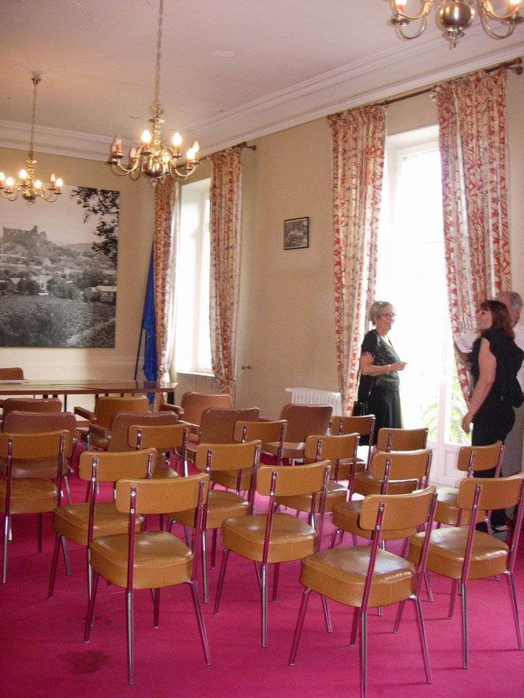 Le salon du maire