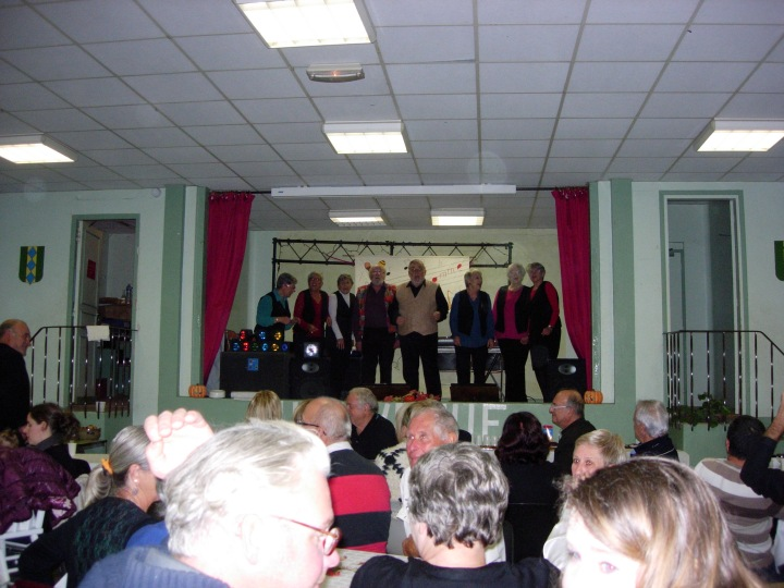 One of our local choirs