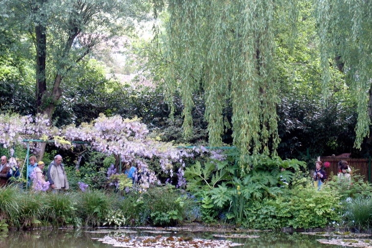 Japanese Bridge - Monet's gardens