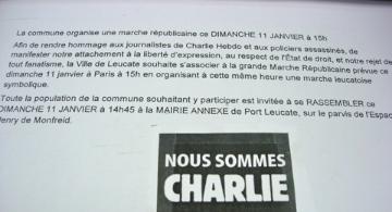 JE SUIS CHARLIE! NOUS SOMMES TOUS CHARLIE!