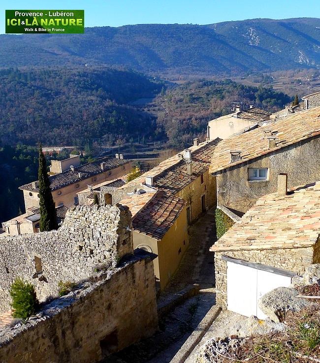 11-walking biking tour in Provence