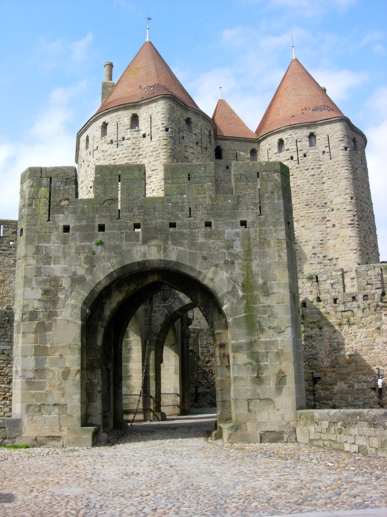 Drawbridge or main entrance