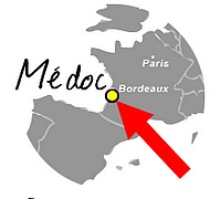 medoc bordeaux map