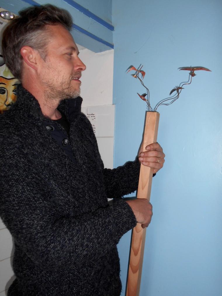 Artist Vincent Langlard